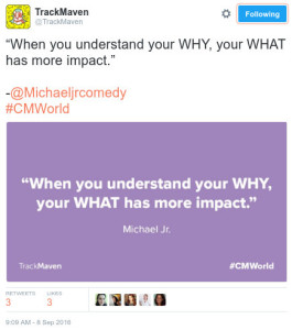 6 Things Overheard on Thursday at #CMWorld that I Wish I Had Said